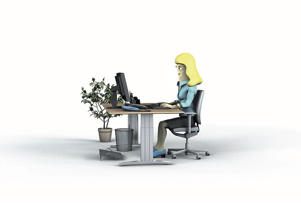 Meubles de bureau ergonomiques à quoi il faut prêter attention